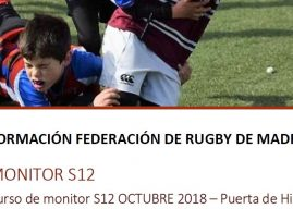 Información e inscripción Curso Monitor Sub 12 – 22 y 26 de noviembre