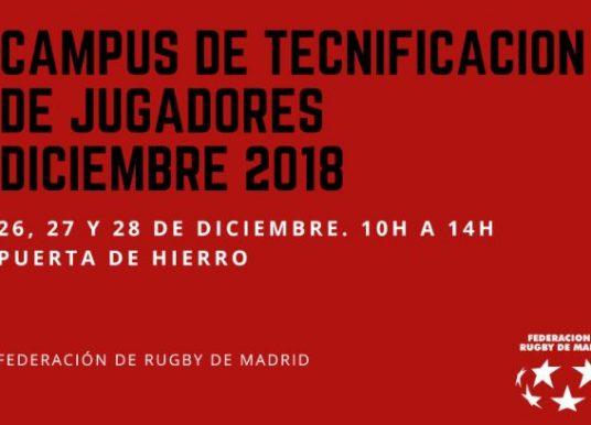 Lista Provisional de admitidos y lista de espera del Campus de Tecnificación de Navidad 2018