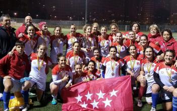 Selección Femenina de Madrid temp 16/17 Campeona de España