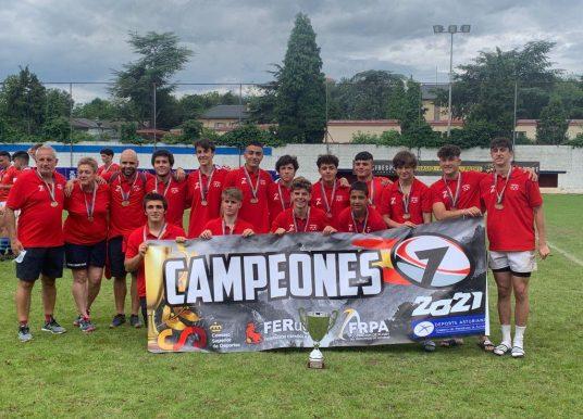 Campeones de España Sub 16 Masculino